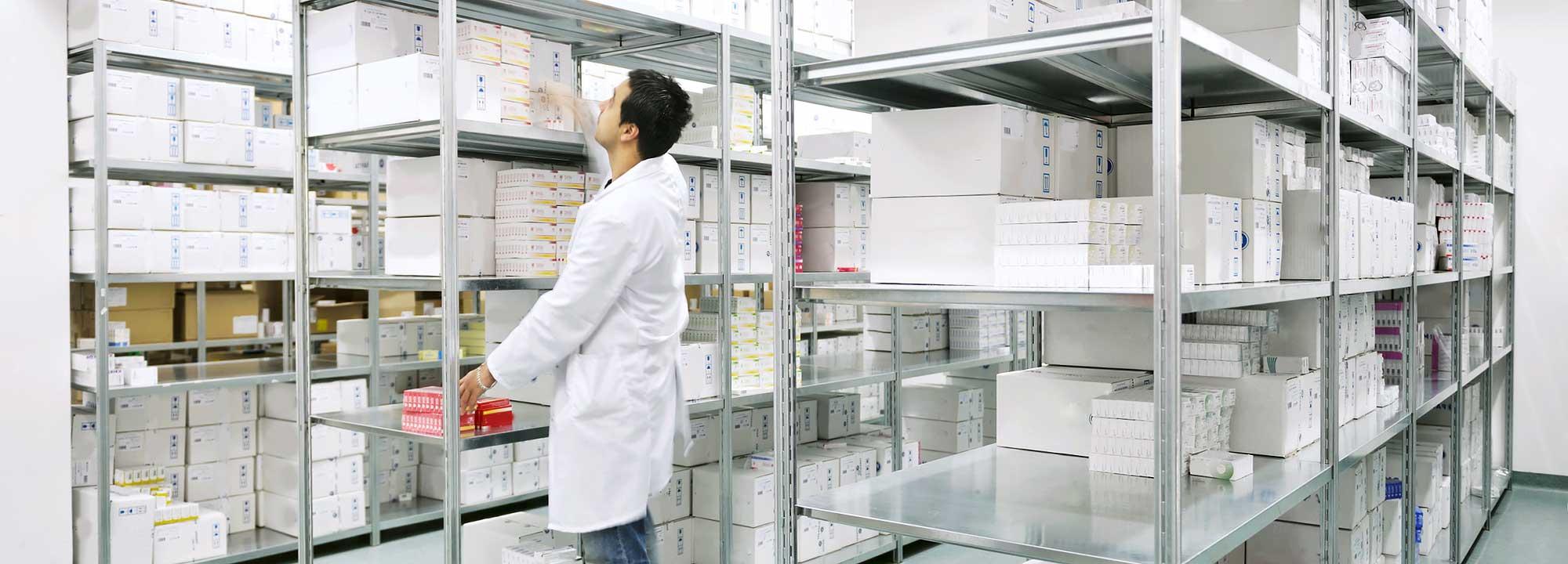 Max Pharma Medikamentenlager