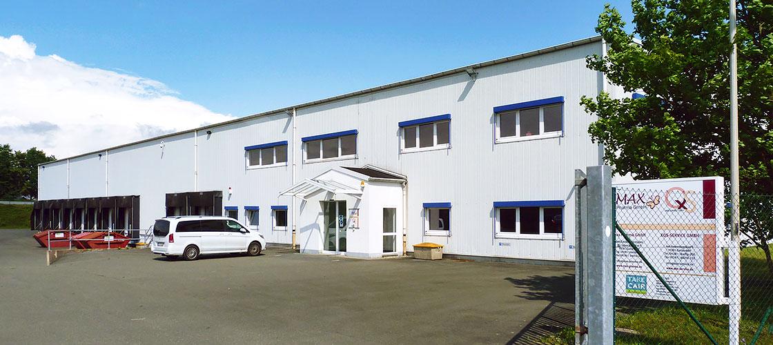 Max Pharma logistics centre, Gattendorf